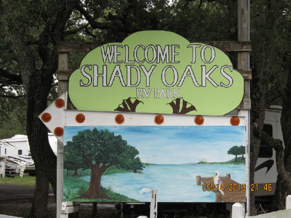Shady Oaks R V Park - Rockport, TX - Campgrounds
