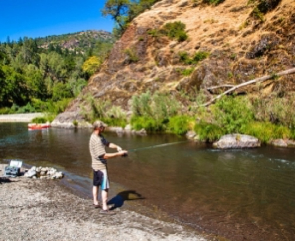 Russian river camping with hookups