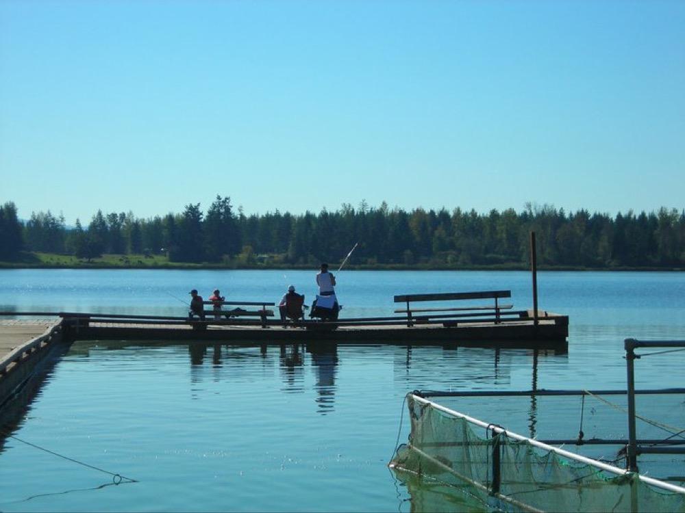 Henley 39 s silver lake resort campground eatonville wa for Silver lake washington fishing