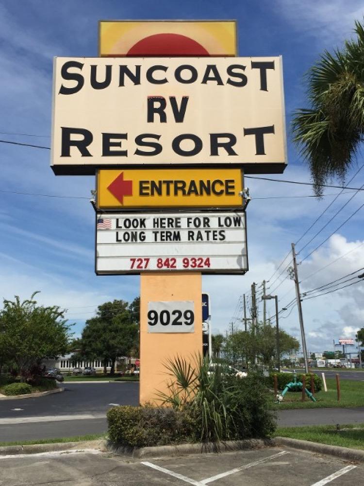 Suncoast Rv Resort - Port Richey, FL - Campgrounds