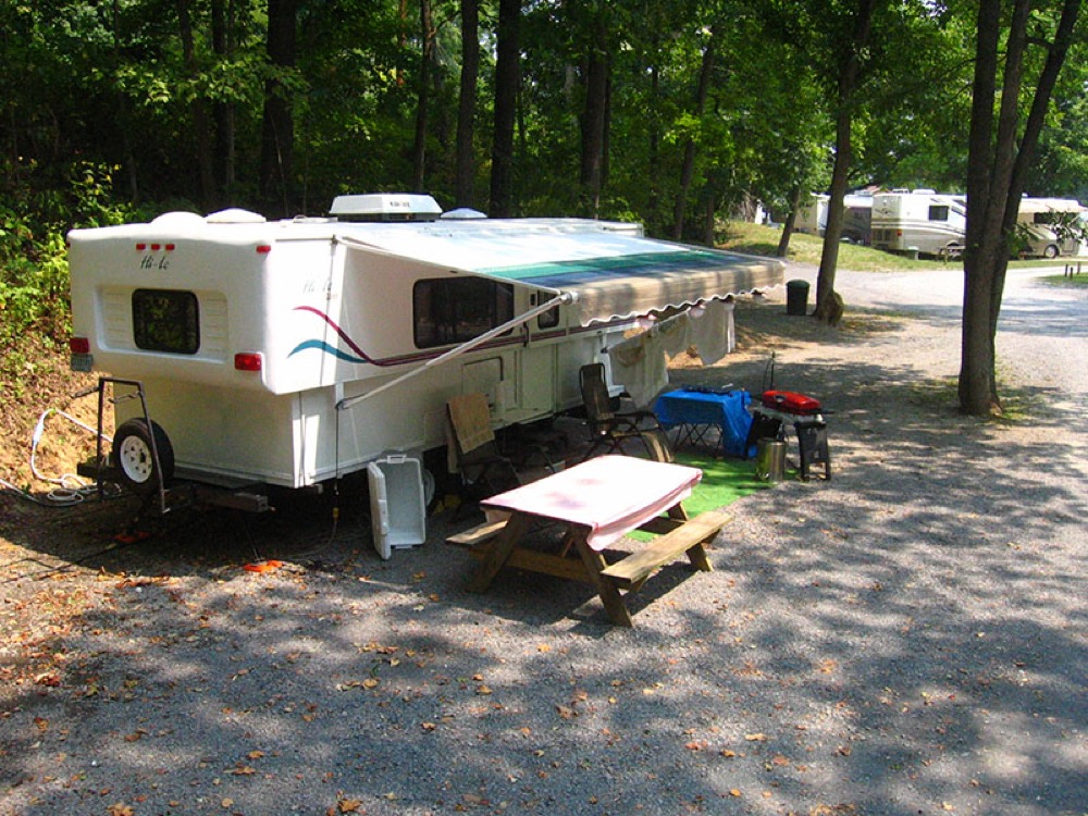 Greenbrier River Campground - Alderson, WV - Campgrounds