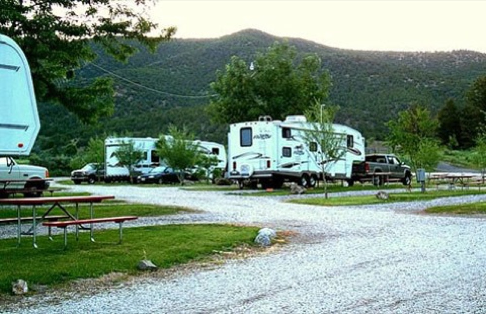 Cottonwood Family Campground Lava Hot Springs Id