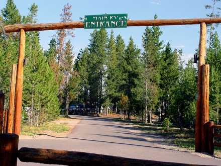 Arrowwood Road Island Park Idaho