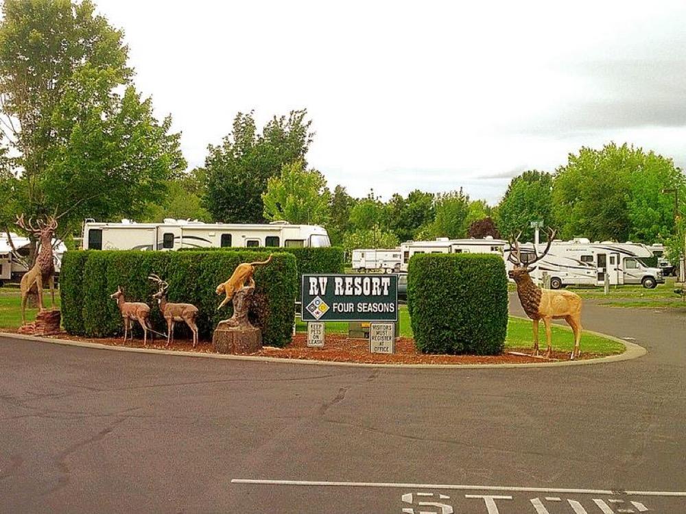 Rv Four Seasons Resort Walla Walla Wa Campgrounds