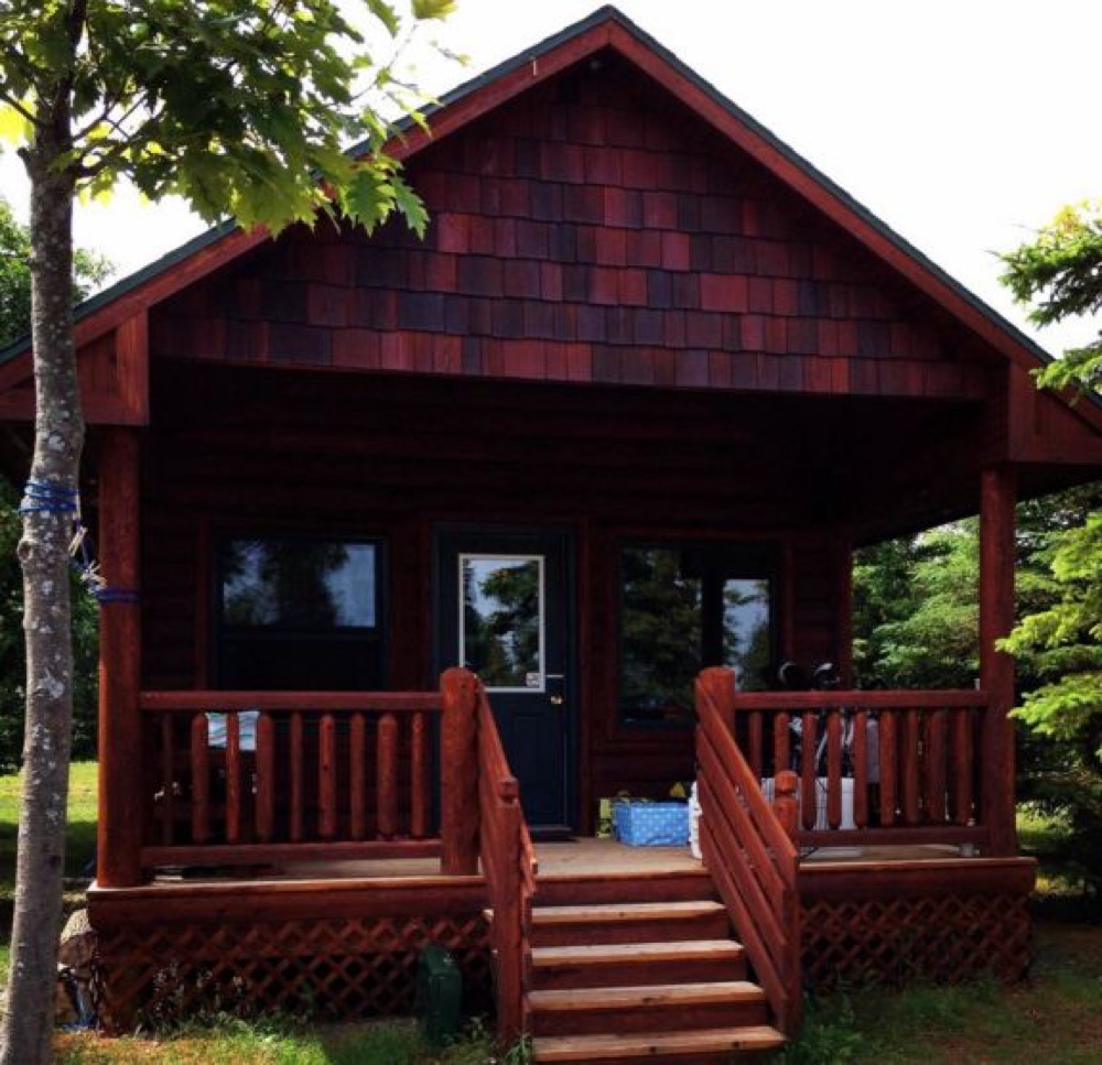 camping cabins youtube watch creek mackinaw of mill