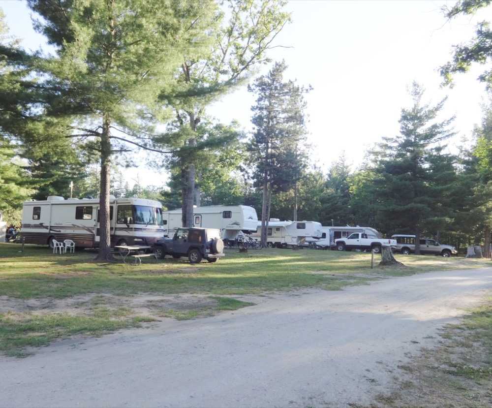 michigan campgrounds full hook up