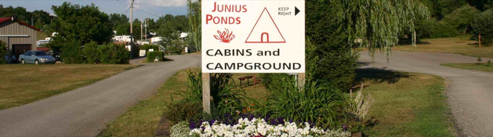 Junius Ponds Cabins Amp Campground Phelps Ny Campgrounds