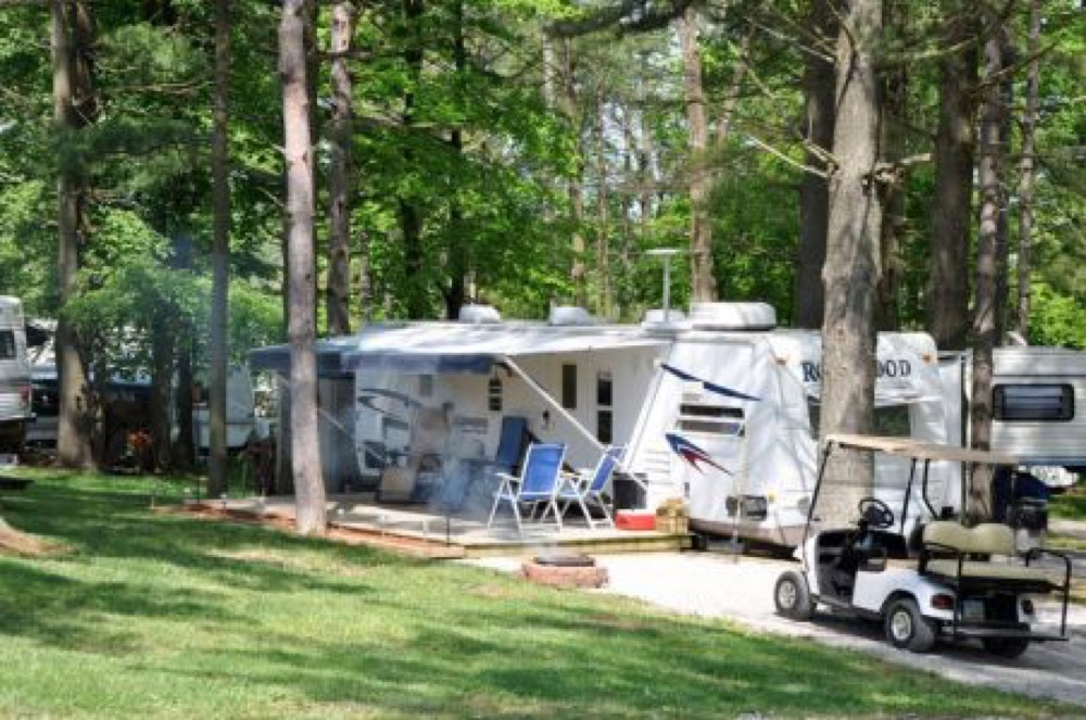 Pine Cove Campground Wilmington Oh Campgrounds