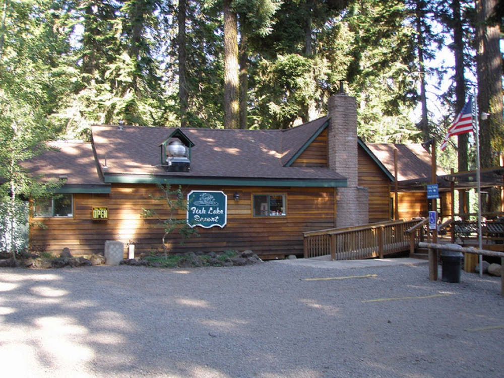 Fish lake resort eagle point or campgrounds for Fish lake cabins
