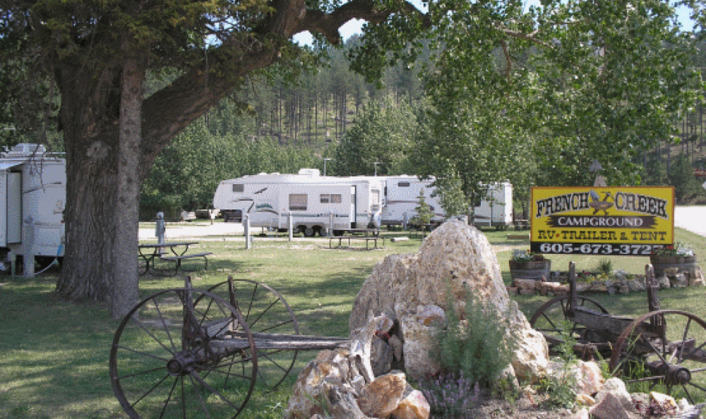 French Creek Rv Park Campground Custer Sd Campgrounds