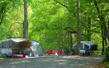 Big Meadow Family Campground Townsend Tn Campgrounds